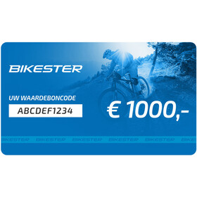 Bikester E-cadeaubon, 1000 €